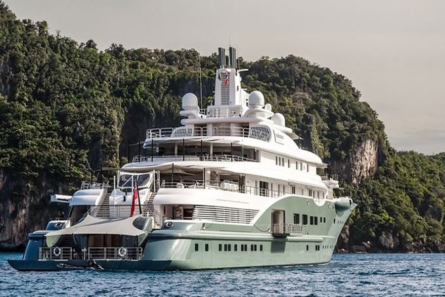 تصویر گران ترین کشتی های تفریحی جهان متعلق به چه کسانی است؟