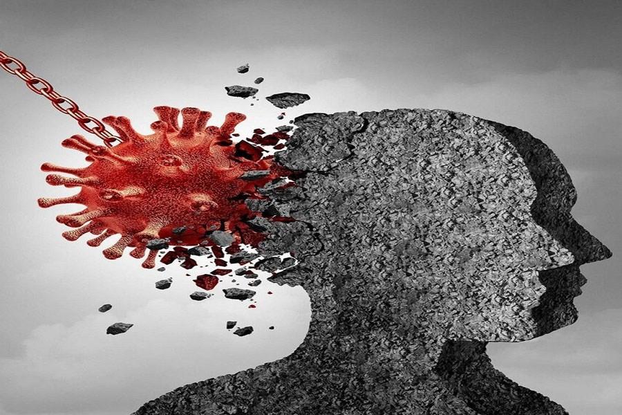برخی بهبودیافتگان کرونا با اختلالهای روانی روبرو میشوند