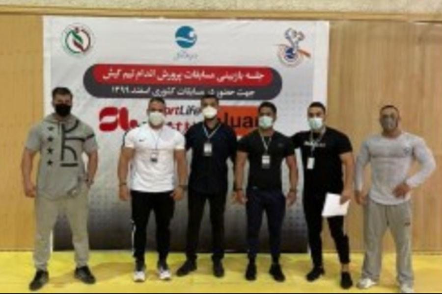 تصویر تشکیل جلسه بازبینی نمایندگان کیش در مسابقات پرورش اندام قهرمانی کشور