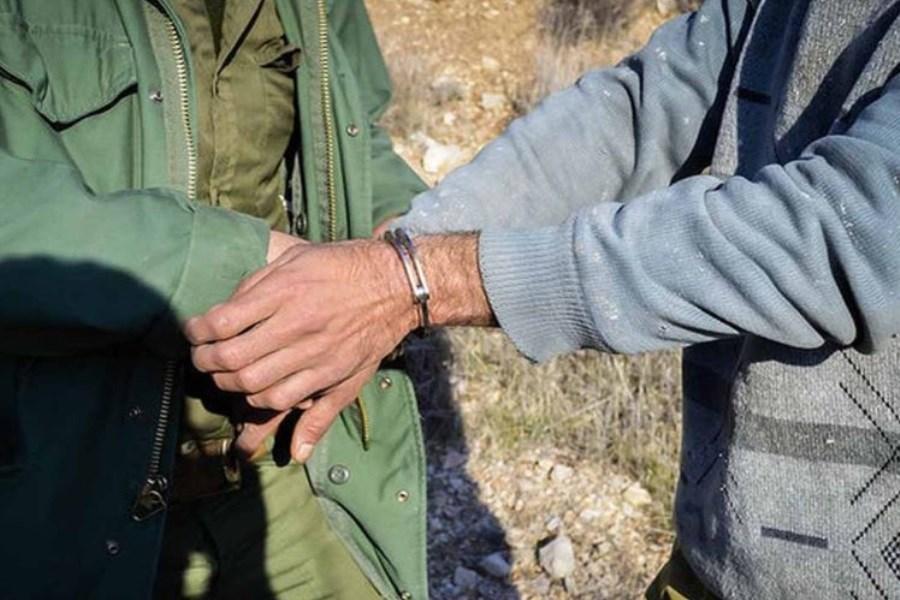 شکارچیان غیرمجاز شهرستان علی آبادکتول دستگیر شدند