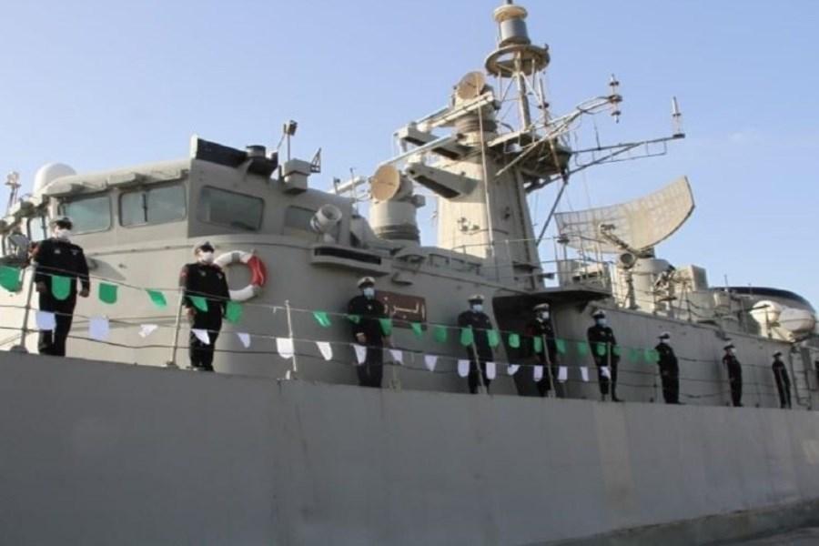 ناوگروه نیروی دریایی ارتش از ماموریت دریایی بازگشت