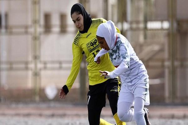 مرحله نهایی فوتبال بانوان؛ شکست سنگین سپاهان در روز توقف بم