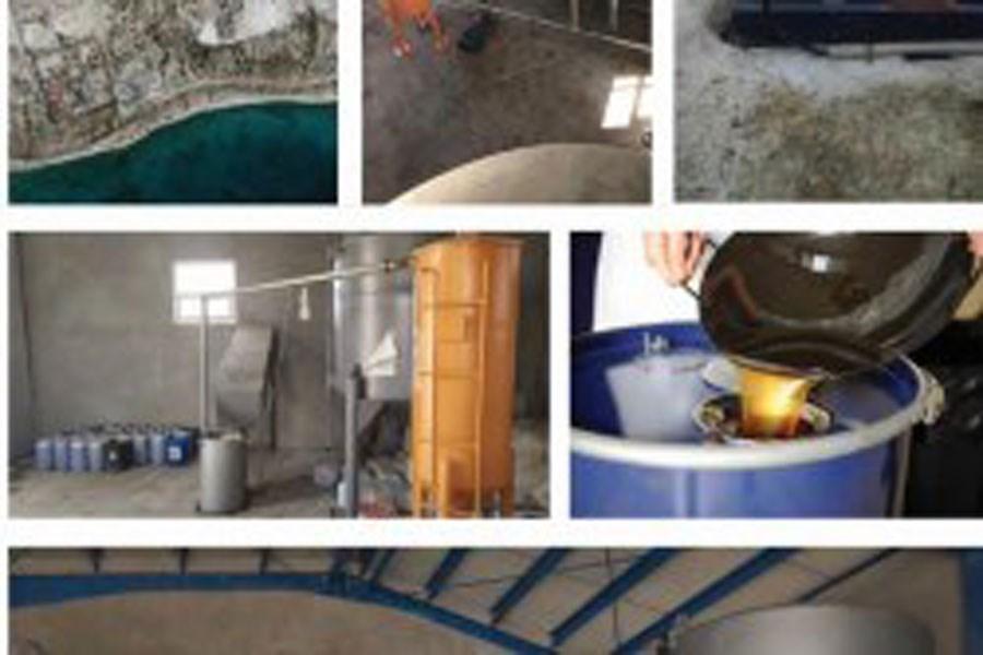 تصویر ارسال نخستین محموله صادراتی روغن پسماند خوراکی از کیش به آلمان