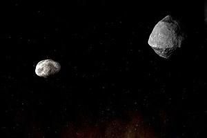 تصویر  امروز و فردا ۵ سنگ آسمانی از کنار زمین میگذرند