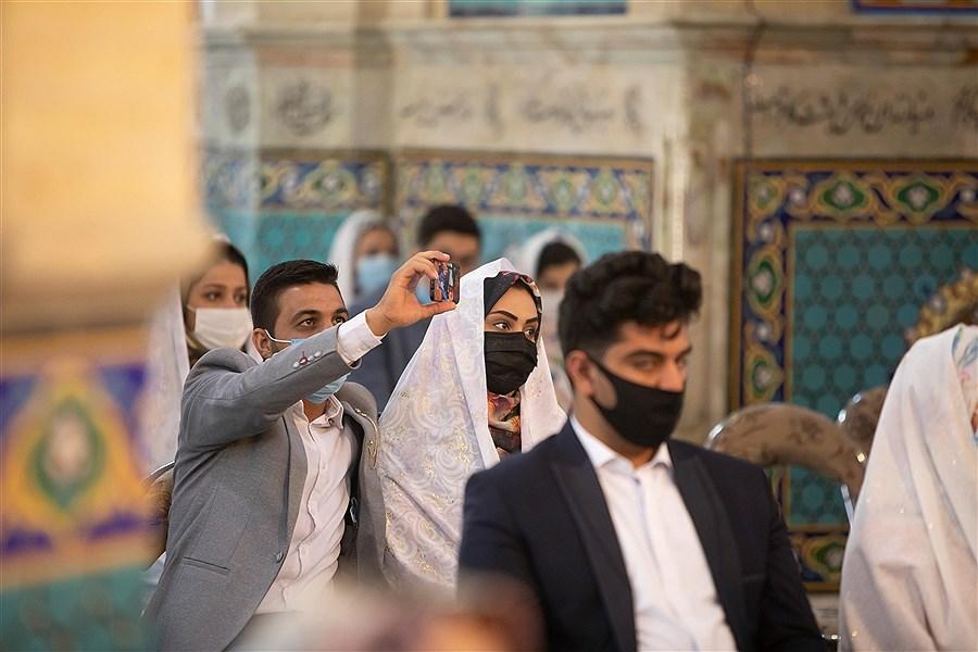 تصویر تصاویری از برگزاری یک عروسی متفاوت در یزد