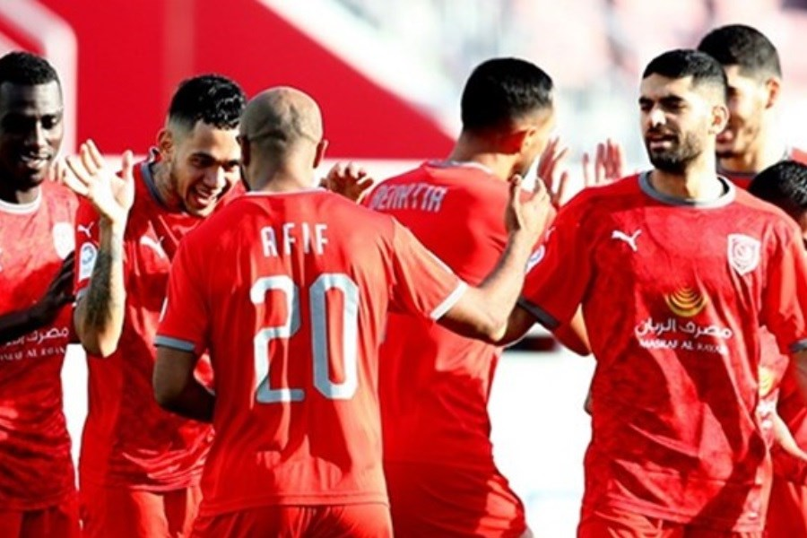 پیروزی الدحیل در حضور 29 دقیقه ای کریمی در لیگ ستارگان قطر