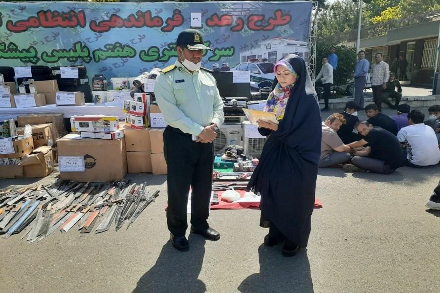 تصویر صاعقه ۵ کلید خورد/ دستگیری سارقان موبایل