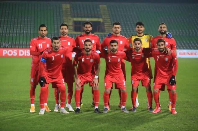 تصویر دیدار دوستانه تیم ملی فوتبال ایران و سوریه در نوروز ۱۴۰۰