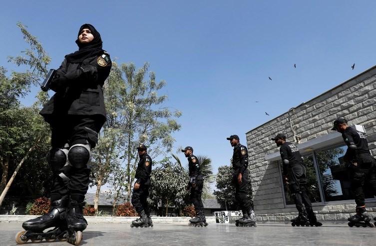 اسکیت؛ راهکار پلیس پاکستان برای دستگیری مجرمان