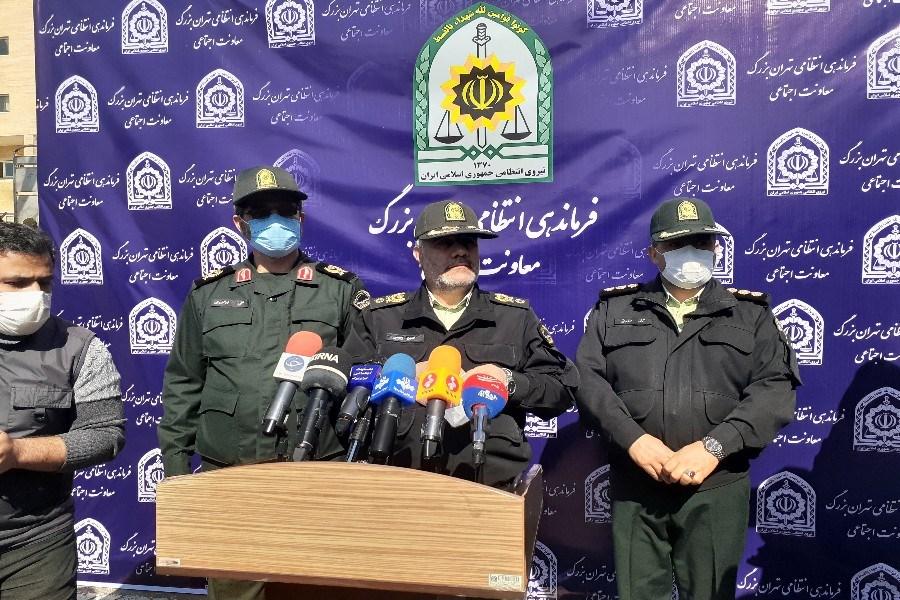 طرح اقتدار و صاعقه در مرکز فرماندهی انتظامی تهران بزرگ کلید خورد
