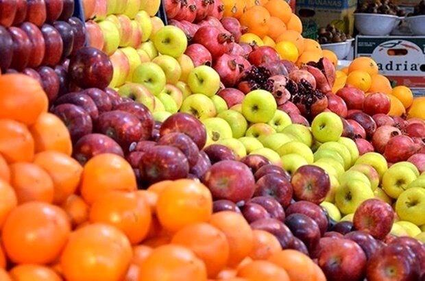 نوسان در  قیمت میوه بازار شب عید