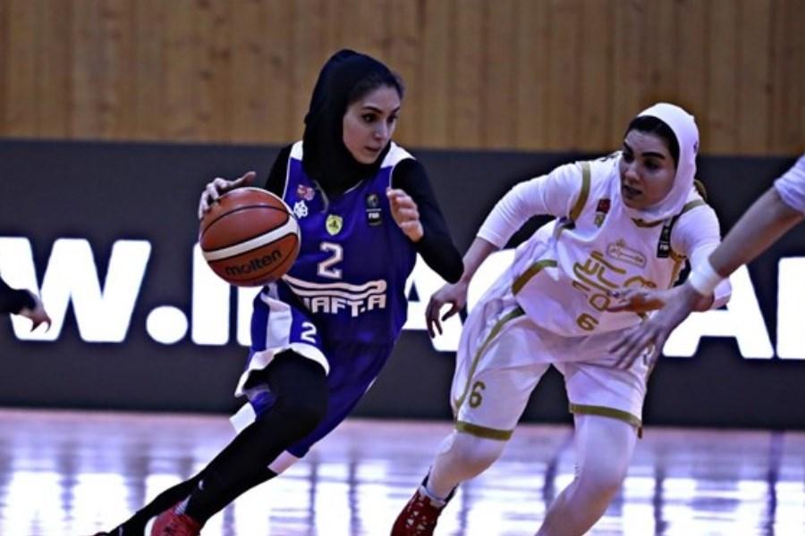 پلیآف بسکتبال بانوان / مهرام و گروه بهمن به دنبال فینالیست شدن