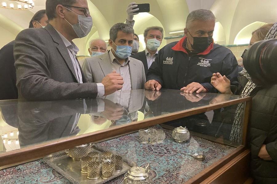 تصویر موزه طلا و جواهرات قیصریه ابراهیم کرمان افتتاح شد