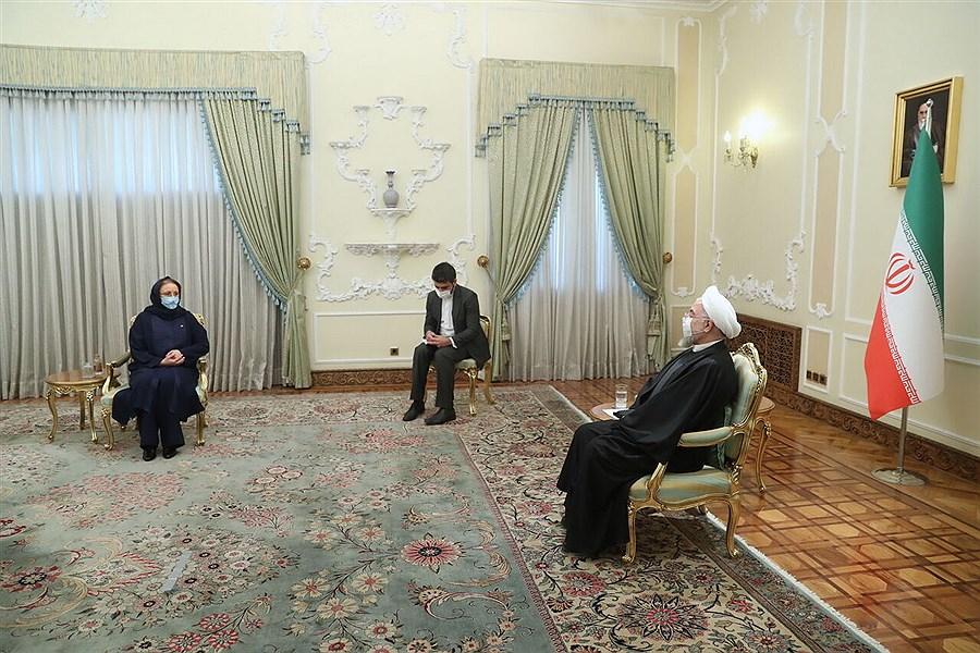 روحانی: شرایط برای همکاریهای بین المللی ایران تغییر کرده است
