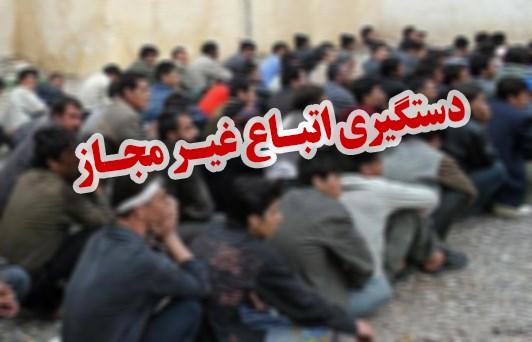 دستگیری 23تبعه بیگانه غیرمجاز دریزد