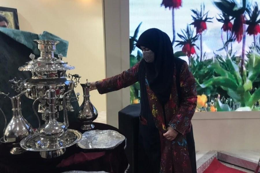 «سماور و ظروف ورشوسازی» ۸۰ ساله رونمایی شد