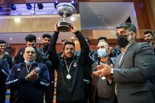 تورنمنت بین المللی چند جانبه هندبال یزد به ایستگاه پایانی رسید/ تیم ملی نوجوانان ایران قهرمان رقابت ها