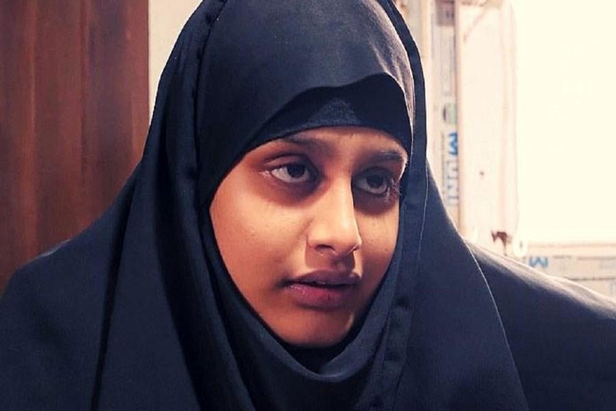 تصویر عاقبت دختری که عروس داعشیها شد