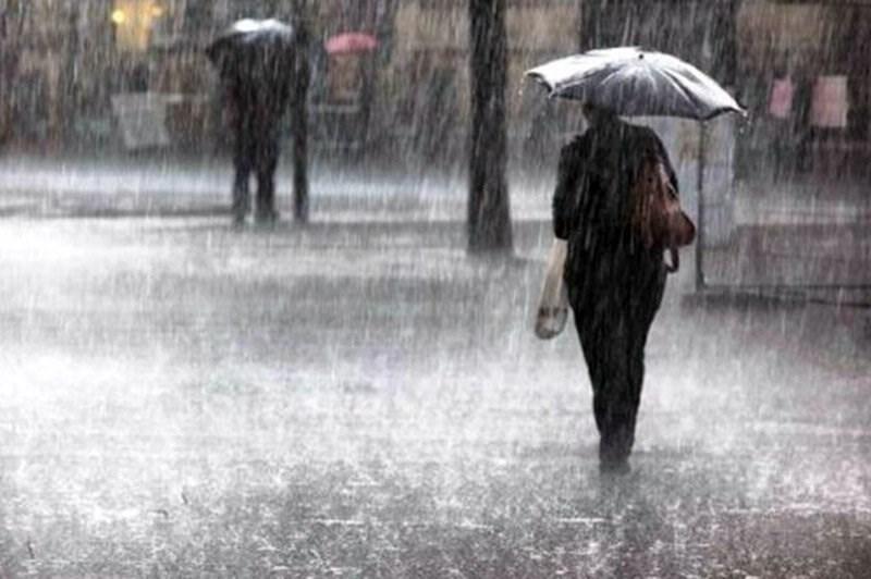 هشدار زرد هواشناسی سمنان با توجه به احتمال وقوع رگبار و تگرگ