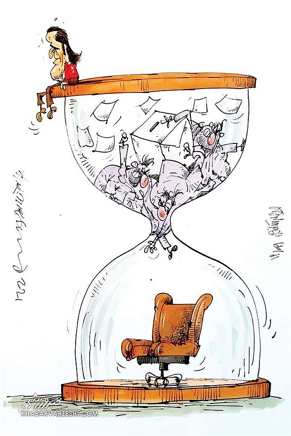 تصویر اینم آخرین وضعیت علی کریمی در انتخابات!