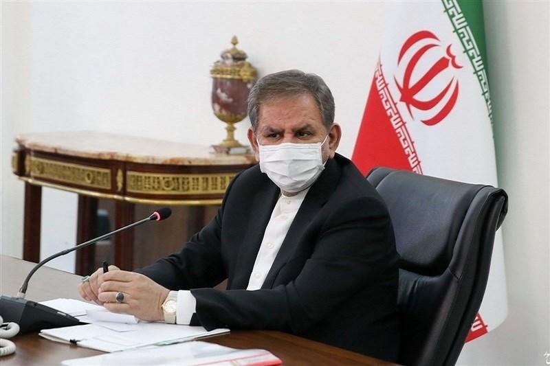 تصویر تشکیل جلسه مهم در دولت با حضور جهانگیری، ظریف و صالحی