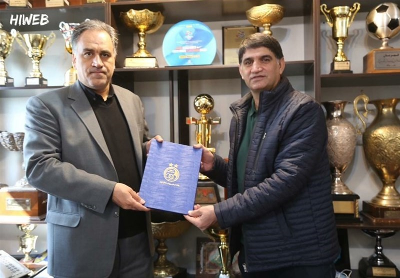 غلامپور مربی استقلال شد