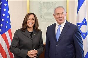 تصویر  گفت و گوی نتانیاهو و معاون رئیس جمهور آمریکا درباره ایران