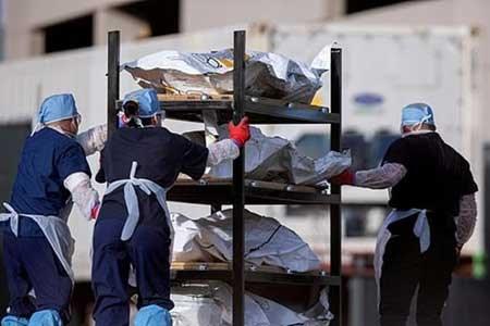 تصویر شمار تلفات کرونا در آمریکا به ۵۴۲ هزار نفر رسید