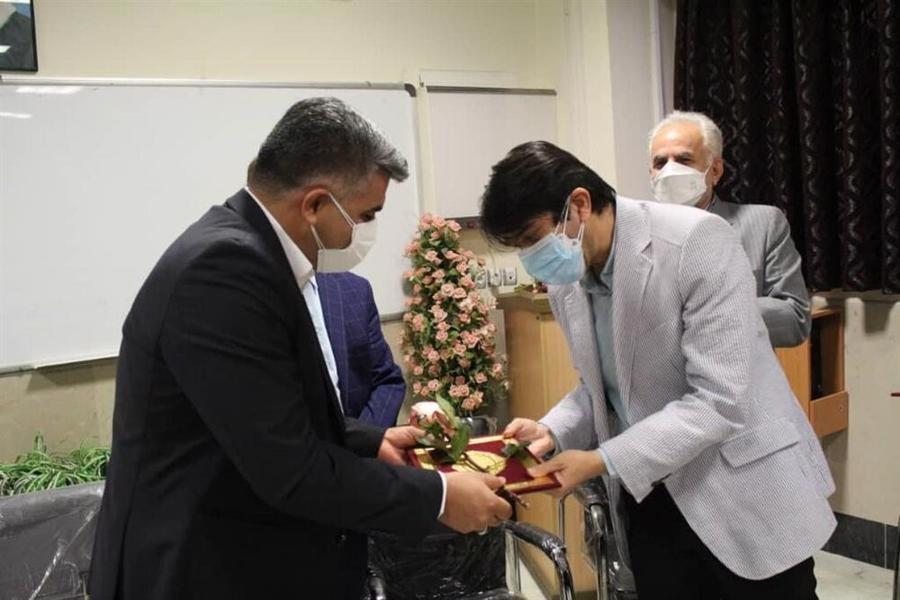 قدردانی  از تلاش های کادر درمان بیمارستان شهید بهشتی بندرانزلی