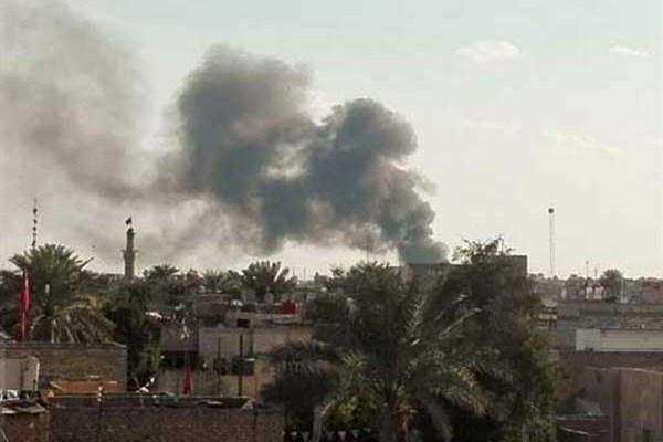 انفجار تروریستی در بغداد