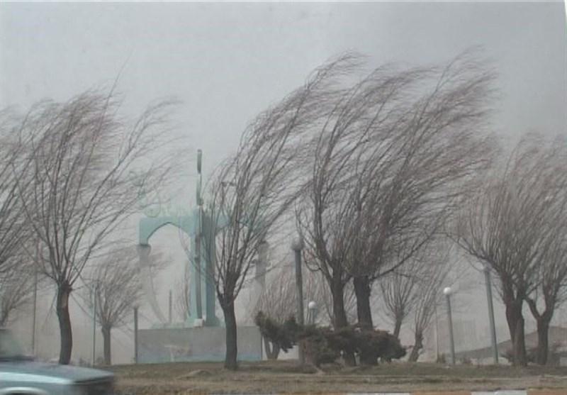 کاهش دما در کشور و وزش باد شدید در ۱۸ استان