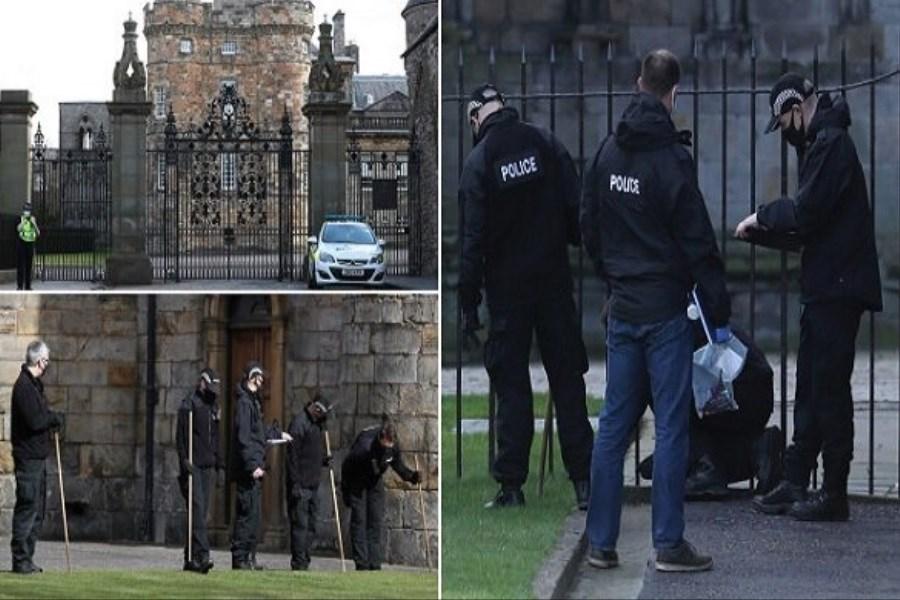 یک بسته مشکوک به بمب در کاخ ملکه انگلیس کشف شد