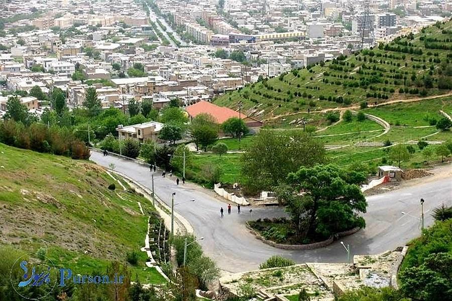 «سنندج»؛ شهر هزار تپه ایران