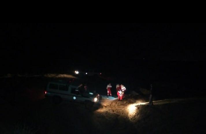 مهار آتش سوزی مراتع روستای درند بهاباد توسط نیروهای هلال احمر