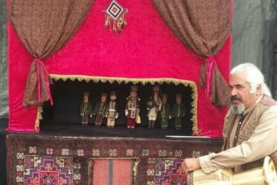 مردان نمکی با خیمهشببازی معرفی میشوند / ۳۰۰ اجرای عروسکی در روستاهایی که تلویزیون نیست
