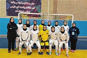 تصویر  شکست تیم هیئت فوتبال اصفهان در مقابل پارس آرا شیراز