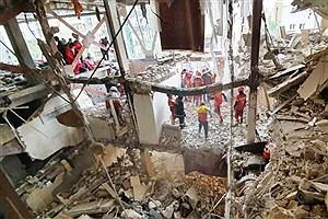 تصویر  انفجار گاز در اهواز ۲ مصدوم داشت