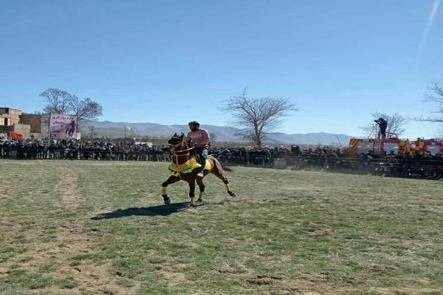 برگزاری چهارمین دوره همایش اسب سواری شهرستان خنداب