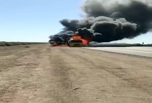 حملات جدید به کاروان لجستیک ارتش آمریکا در عراق