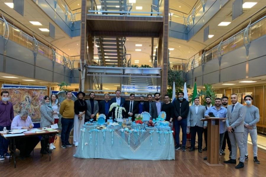 نمایشگاه جشن عید نوروز و نیمه شعبان در دانشگاه دولتی روابط بین الملل مسکو