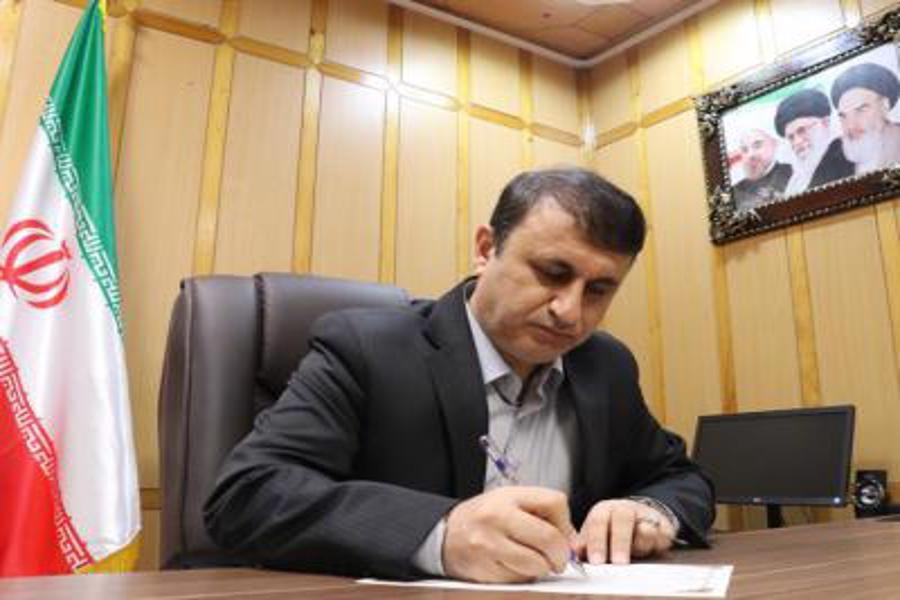 پیام تبریک فرماندار رشت به مناسبت 12 فروردین روز جمهوری اسلامی ایران