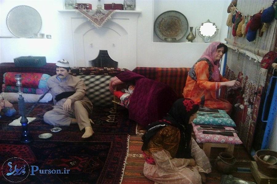 تصویر «عمارت آصف»؛ نماد فرهنگ و اصالت مردم کُردستان