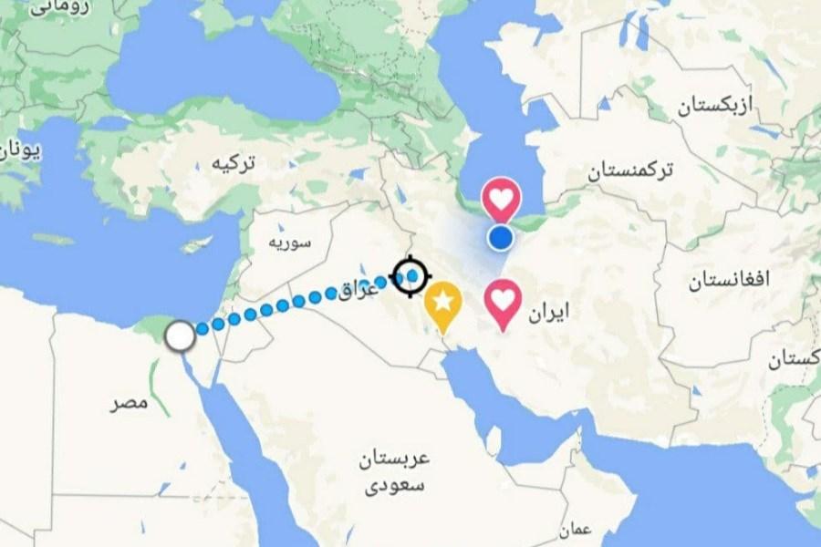 موشکهای نقطه زن ایران، قابلیت زیر آتش قرار دادن کانال سوئز را دارند