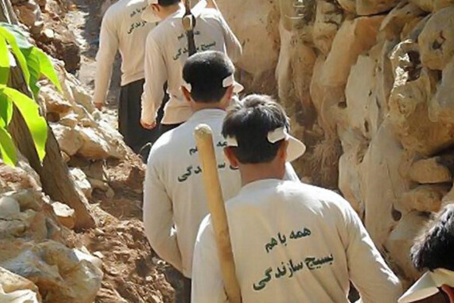 خدمت رسانی 1300 گروه جهادی طی ایام نوروز در آذربایجانغربی