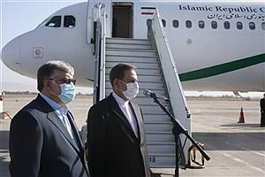 تصویر  جهانگیری صبح امروز وارد مشهد شد