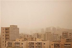 تصویر  وضعیت هوای شیراز ناسالم است