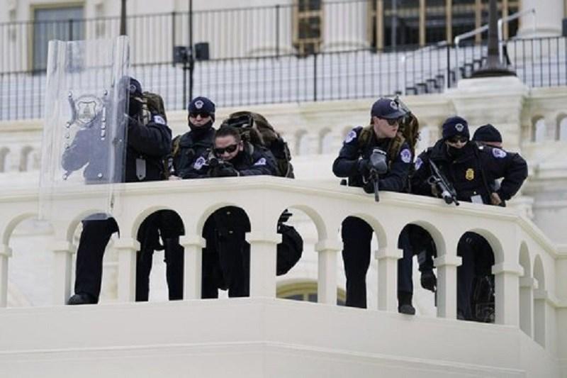 تیراندازی در ساختمان کنگره امریکا