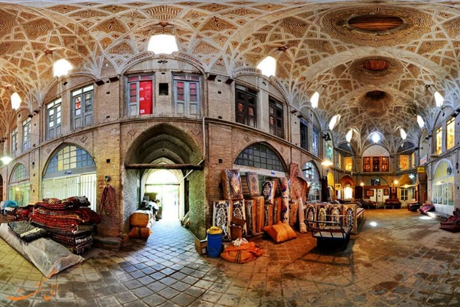 بازار تاریخی اراک تعطیل شد