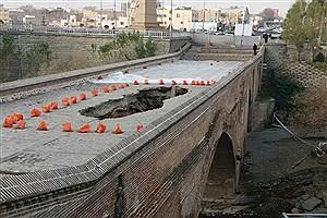 تصویر  مرمت پل تاریخی کرج در دستور کار قرار گرفت