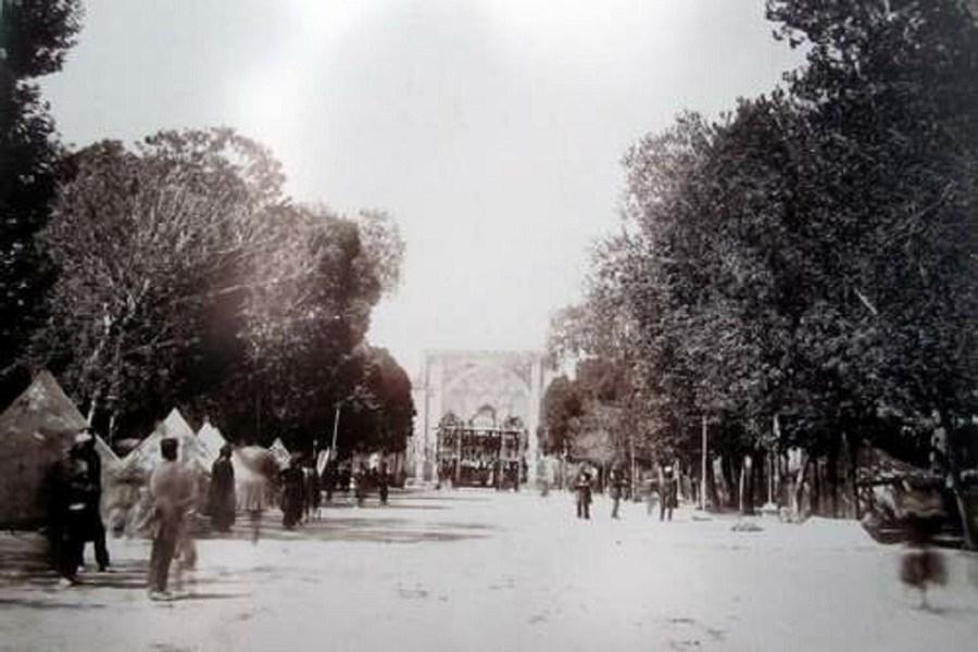 تصویر اولین خیابان ایران را می شناسید؟